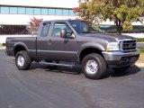 2004 Dark Shadow Grey Metallic Ford F250 Super Duty XLT SuperCab 4x4 #39006311