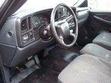 2000 Chevrolet Silverado 1500 Regular Cab Graphite Interior