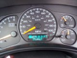 2000 Chevrolet Silverado 1500 Regular Cab Gauges