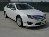 2010 Ford Fusion White Platinum Tri-coat Metallic