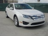 2011 White Platinum Tri-Coat Ford Fusion SE #39047748