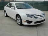 2011 White Platinum Tri-Coat Ford Fusion SE #39047749