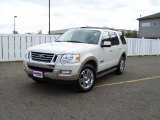 2008 Ford Explorer White Suede