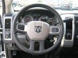 2010 Dodge Ram 3500 SLT Crew Cab 4x4 Dually Steering Wheel