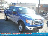2010 Blue Flame Metallic Ford F150 XLT SuperCrew 4x4 #39059475