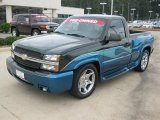 2004 Arrival Blue Metallic Chevrolet Silverado 1500 Regular Cab #39059770