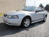 2002 Satin Silver Metallic Ford Mustang V6 Convertible #39060173