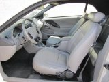 2002 Ford Mustang V6 Convertible Medium Graphite Interior