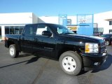 2011 Black Chevrolet Silverado 1500 LT Crew Cab 4x4 #39059518