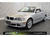 2006 Titanium Silver Metallic BMW 3 Series 330i Convertible #39059285