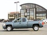 2007 Blue Granite Metallic Chevrolet Silverado 1500 LT Extended Cab 4x4 #39059842