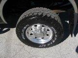 2002 Ford F350 Super Duty XLT Crew Cab 4x4 Wheel