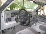 2002 Ford F350 Super Duty XLT Crew Cab 4x4 Medium Flint Interior