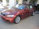 2011 Vermillion Red Metallic BMW 3 Series 328i Sedan #39059355