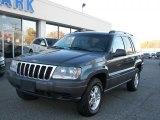 2002 Graphite Metallic Jeep Grand Cherokee Laredo 4x4 #39059573