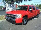 2010 Victory Red Chevrolet Silverado 1500 LT Crew Cab #39059401