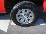 2010 Chevrolet Silverado 1500 LT Crew Cab Wheel