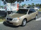 2007 Sandstone Metallic Chevrolet Malibu LS Sedan #39059402