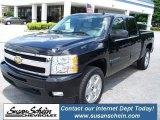 2009 Black Chevrolet Silverado 1500 LTZ Crew Cab 4x4 #39060263