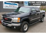 2003 GMC Sierra 2500HD Carbon Metallic