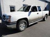 2003 Summit White Chevrolet Silverado 1500 Z71 Extended Cab 4x4 #39123114