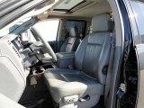 2007 Dodge Ram 3500 Laramie Quad Cab 4x4 Dually Medium Slate Gray Interior