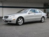 2004 Brilliant Silver Metallic Mercedes-Benz S 500 Sedan #39123296