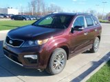 2011 Kia Sorento Dark Cherry