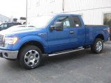 2010 Blue Flame Metallic Ford F150 XLT SuperCab 4x4 #39123310