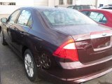 2011 Bordeaux Reserve Metallic Ford Fusion SEL V6 #39123315