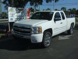 2011 Summit White Chevrolet Silverado 1500 LT Extended Cab #39123150