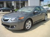2010 Polished Metal Metallic Acura TSX Sedan #39123333