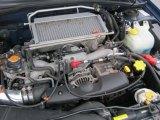 2002 Subaru Impreza WRX Sedan 2.0 Liter Turbocharged DOHC 16-Valve Flat 4 Cylinder Engine