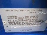 2002 Subaru Impreza WRX Sedan Info Tag