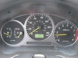 2002 Subaru Impreza WRX Sedan Gauges