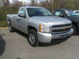 2011 Chevrolet Silverado 1500 Sheer Silver Metallic