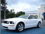 2007 Performance White Ford Mustang GT Premium Convertible #39148530