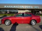 2010 Sangria Red Metallic Ford Fusion SEL V6 AWD #39148927