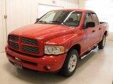 2004 Flame Red Dodge Ram 1500 SLT Quad Cab #39149341