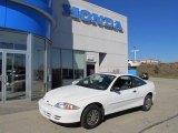 2002 Bright White Chevrolet Cavalier Coupe #39148576