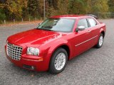 2010 Chrysler 300 Inferno Red Crystal Pearl