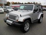 2011 Bright Silver Metallic Jeep Wrangler Sahara 4x4 #39149356