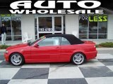 2005 Electric Red BMW 3 Series 330i Convertible #39149043
