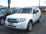 2011 Ford Escape White Suede
