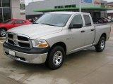 2010 Light Graystone Pearl Dodge Ram 1500 ST Quad Cab 4x4 #39149076