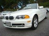 2002 Alpine White BMW 3 Series 325i Convertible #39148239