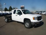 2011 GMC Sierra 2500HD SLE Extended Cab 4x4 Chassis Data, Info and Specs