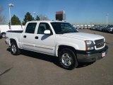 2004 Summit White Chevrolet Silverado 1500 Z71 Crew Cab 4x4 #39148276