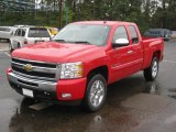 2011 Victory Red Chevrolet Silverado 1500 LT Extended Cab #39149438