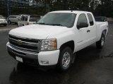 2011 Summit White Chevrolet Silverado 1500 LT Extended Cab 4x4 #39149440